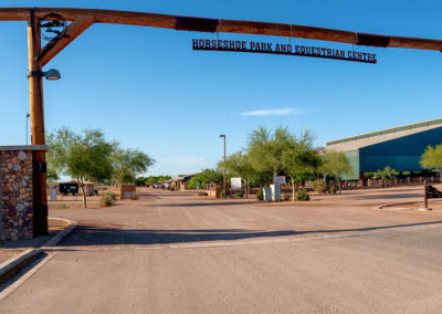 Photo of entry to Horseshoe Park and Equestrian Centre